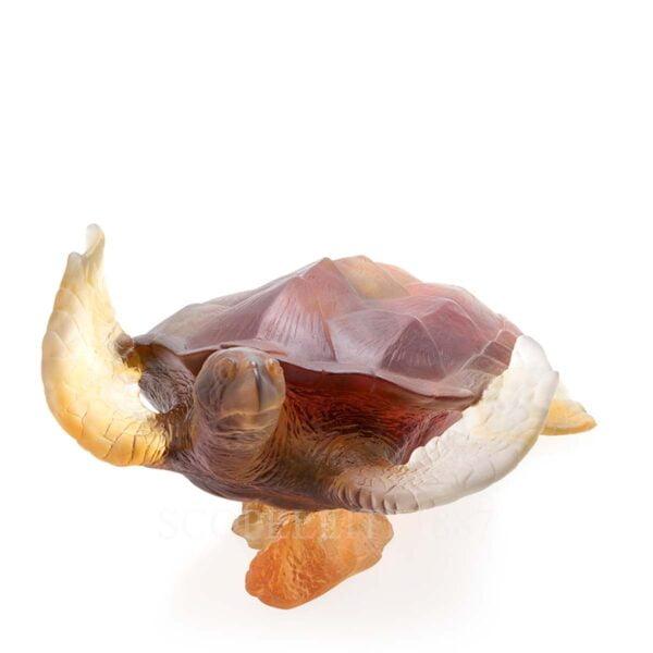 daum mer de corail turtle amber grey numbered edition