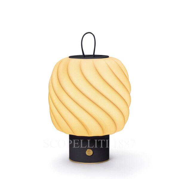 lladro ice cream portable lamp black