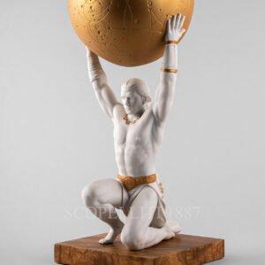 lladro atlas figurine