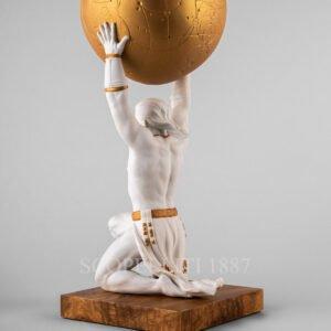 lladro atlante figurine