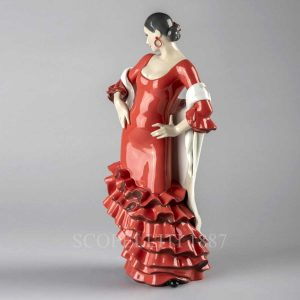 lladro flamenco soul woman