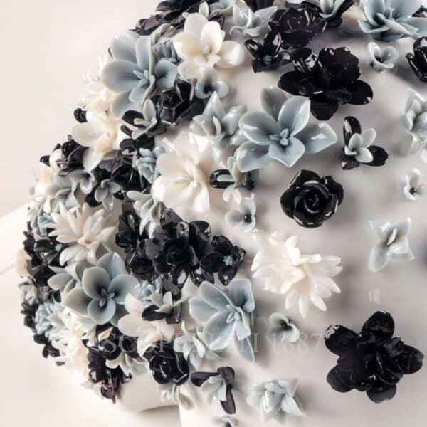 lladro life is a flower sculpture