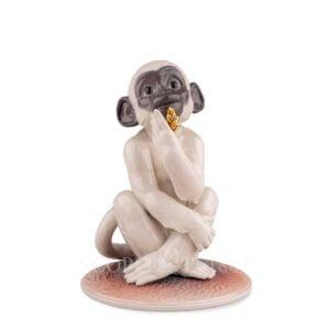 lladro little monkey figurine