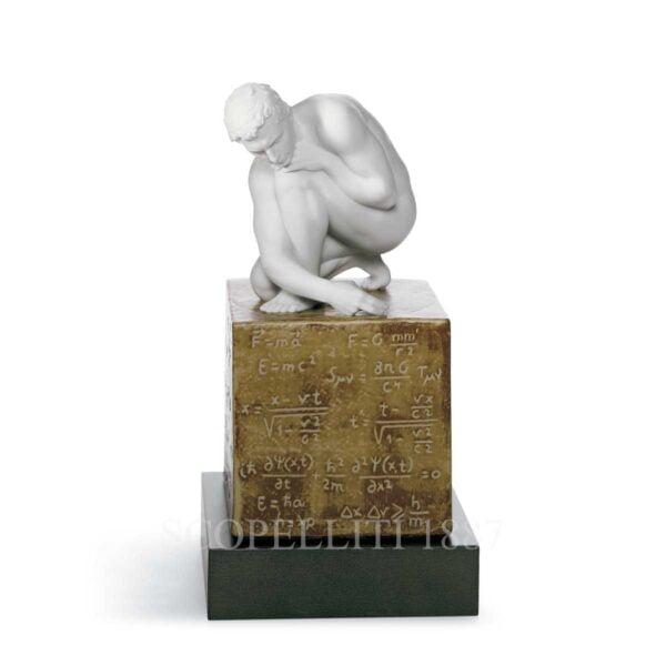 lladro scientia man figurine