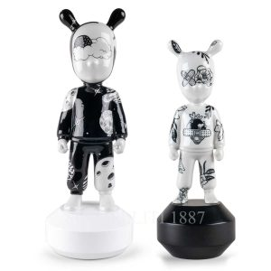 lladro the guest by henn kim big and small model