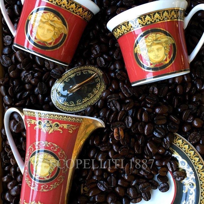 versace coffee cup medusa