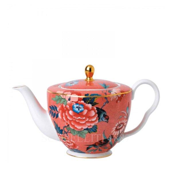 wedgwood paeonia blush teapot