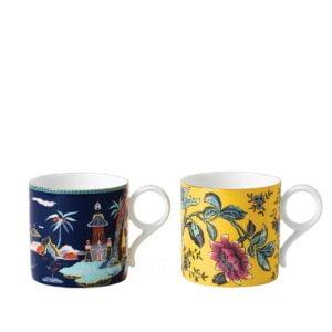 wedgwood wonderlust set of two large mugs