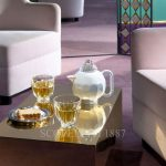 baccarat artistic tea set photo