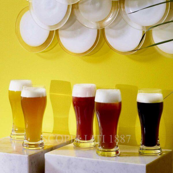 baccarat set of 2 beer highballs