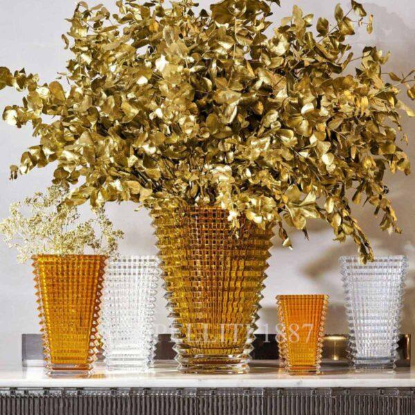 baccarat eye crystal vases