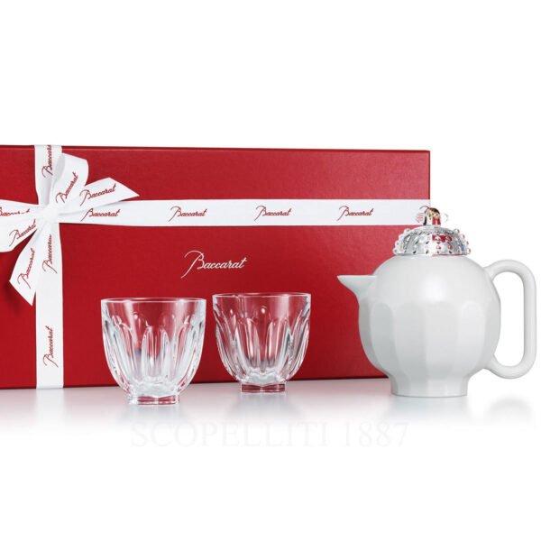 baccarat faunacrystopolis harcourt tea set