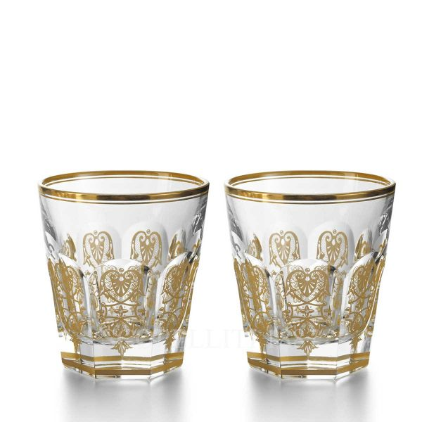 baccarat harcourt empire set two tumblers