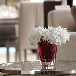 baccarat mosaique tumbler red