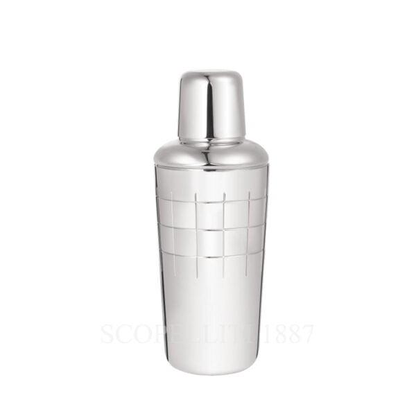 christofle silver plated shaker graphik