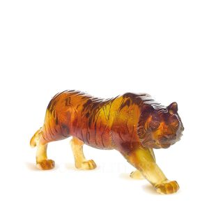 daum crystal amber tiger