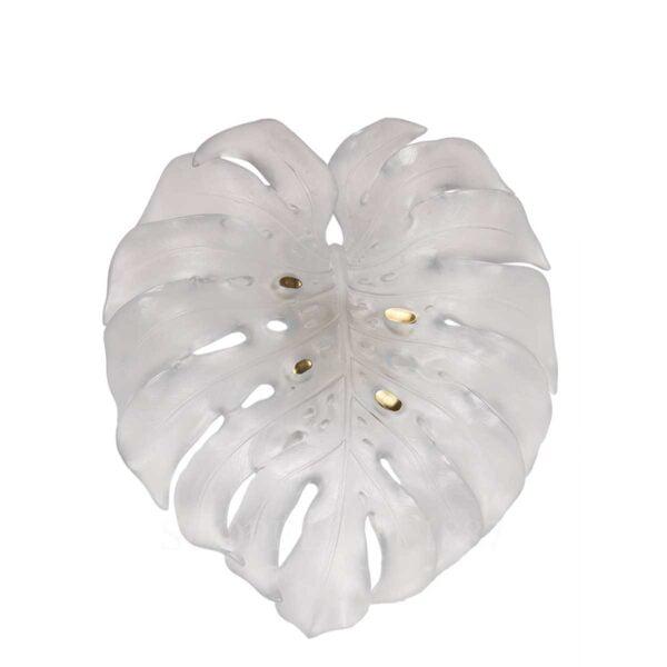 daum crystallarge white wall leaf