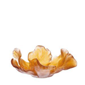 daum crystal tulip bowl large