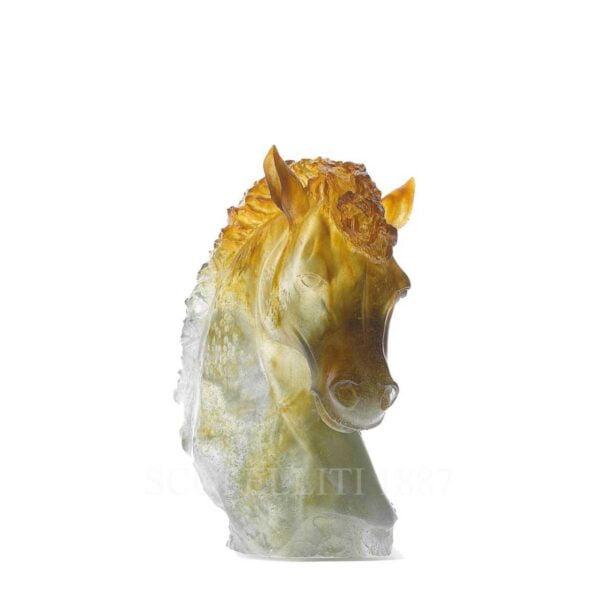 daum grey amber andalousian horse's head