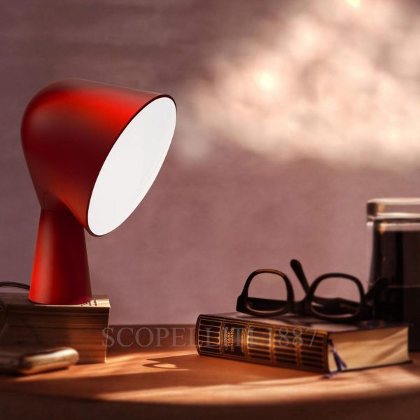 foscarini red lamp
