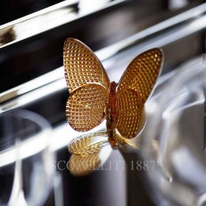 baccarat lucky butterfly diamond gold