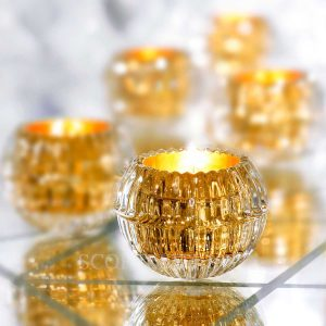 baccarat eye gold scented candle