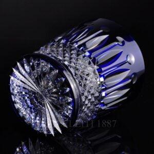 saint louis crystal tommy tumbler blue