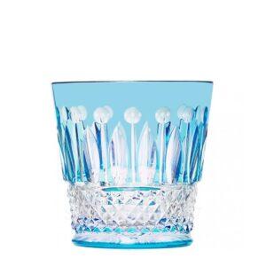 saint louis crystal tommy tumbler light blue