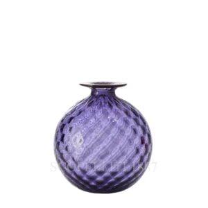 venini monofiore balloton vase x-small amethyst